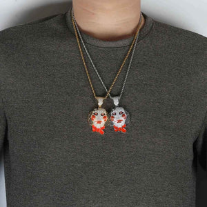 Hip Hop Saw Clown Pendant