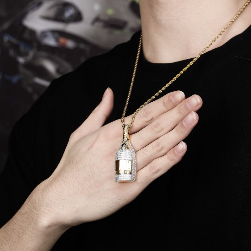 Hip Hop Bottle Pendant