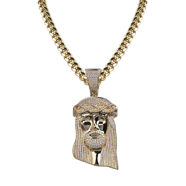 Ice out Jesus Corolla pendant