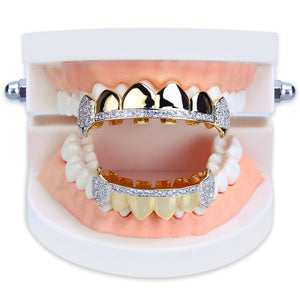 Micro Pave Iced Out Teeth Grillz - MajesticVUE