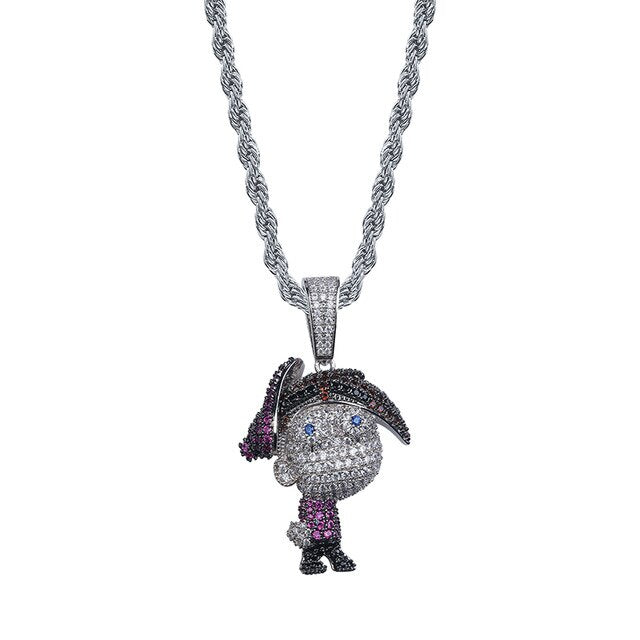 ICEDOUT The Fairly OddParents Cartoon Character Timmy Pendant