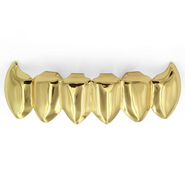 Hip Hop Top & Bottom jaw Teeth Grillz - MajesticVUE