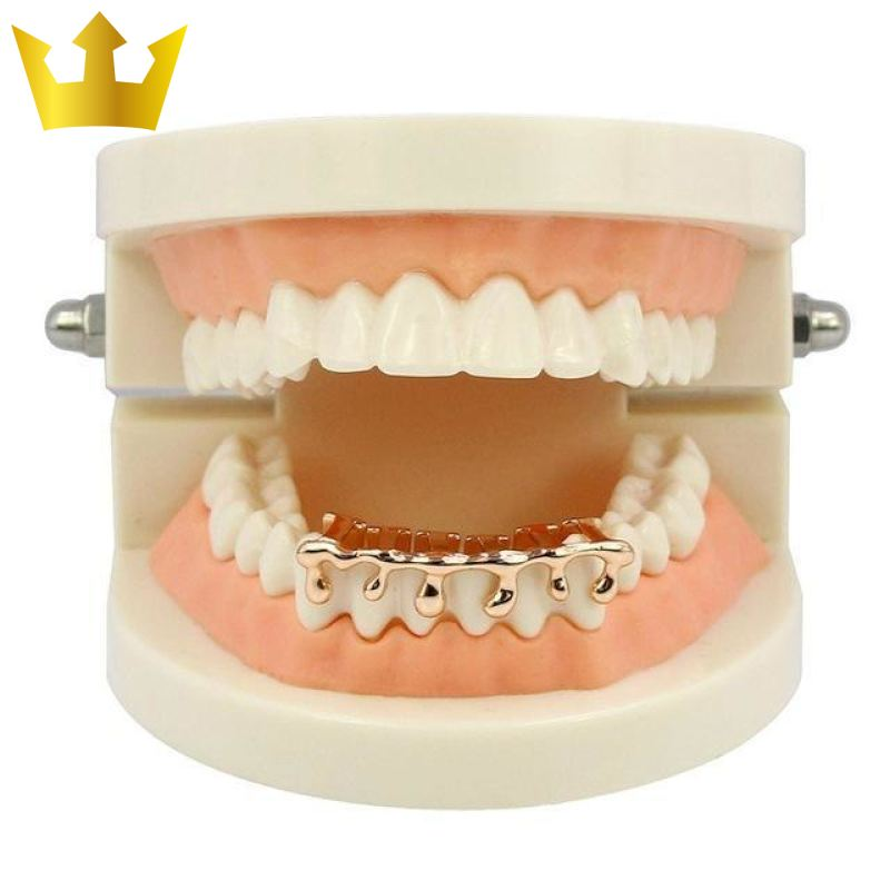 Dripping Gold Majestic Grillz Rose Gold Offers