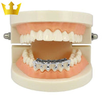 Dripping Gold Majestic Grillz Silver Offers