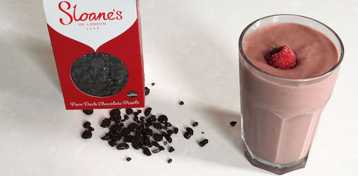 Dark Chocolate & Raspberry Smoothie