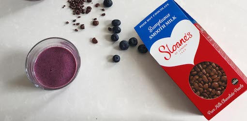 Very Berry Chocolate Smoothie