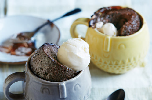 Double Chocolate Brownie Mug Cake