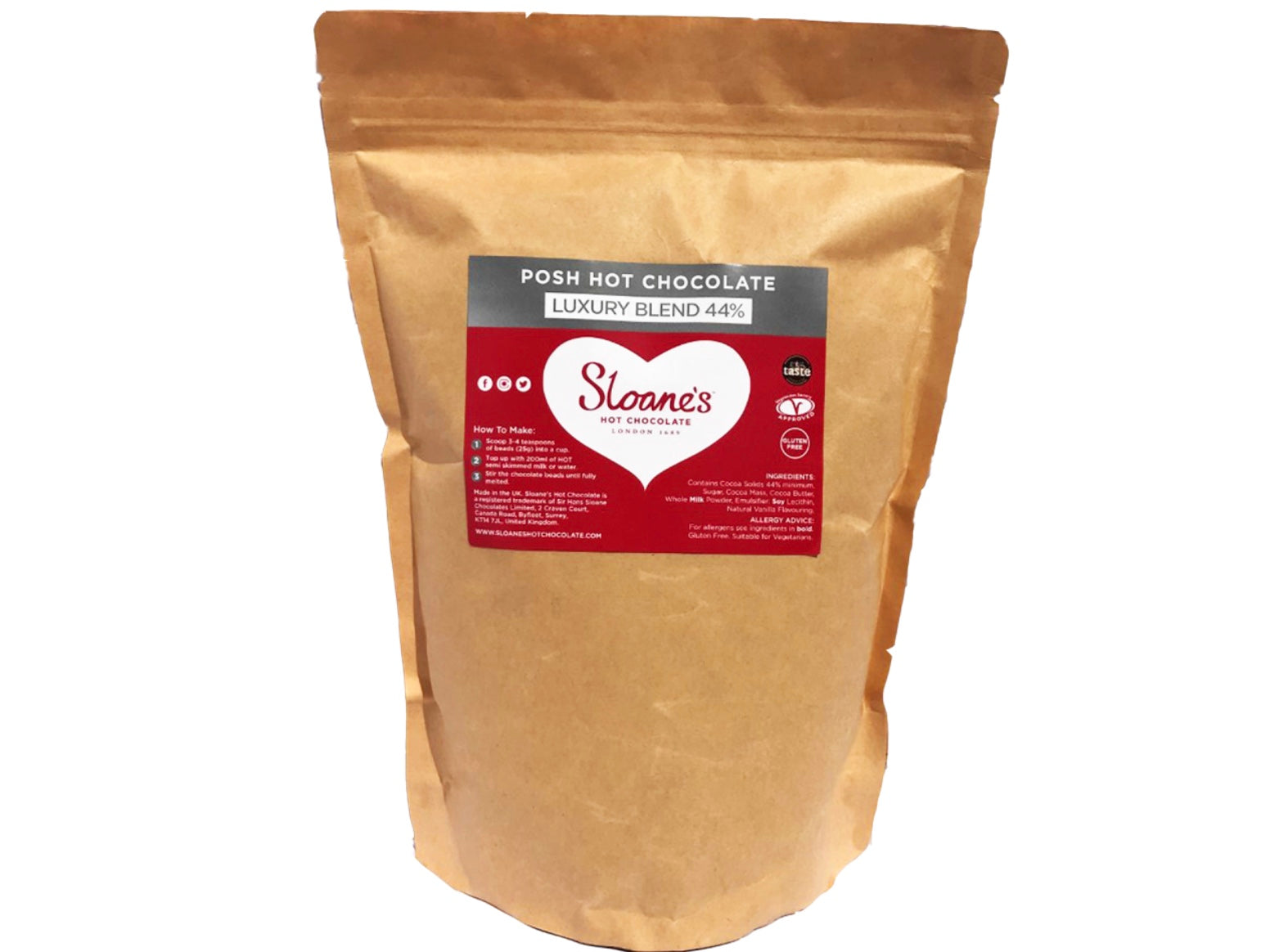 Luscious Luxury Blend 44% 1kg Refill pack