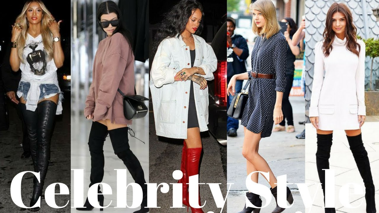 Celebrity Fashion Winter Boots