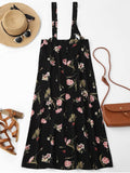 Gorgeous Floral Maxi Suspender Skirt