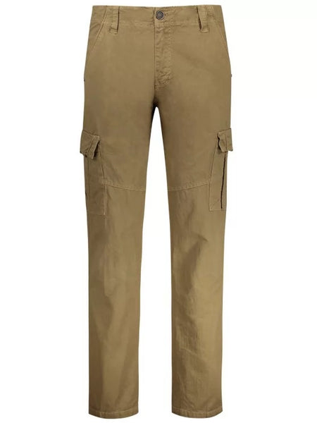Trendy Straight Cargo Pants with Multi Pockets