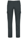 Chic Straight Cargo Pants with Flap Pockets