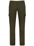 Trendy Flap Pockets Zip Fly Straight Cargo Pants