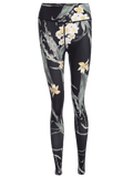 Trendy Stretchy Slimming Floral Sporty Leggings