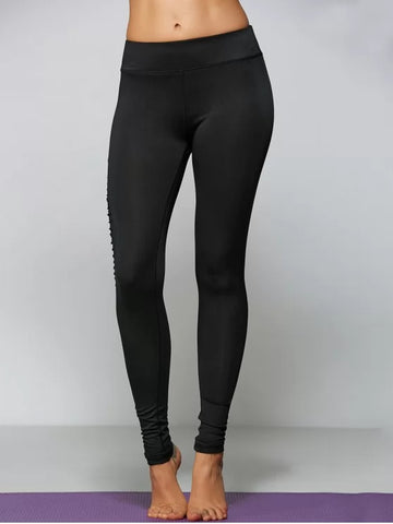 Fun Ripped Tight Fit Sports Leggings
