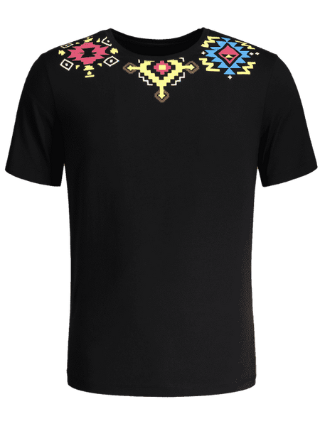 Trendy Geometric Printed Tee