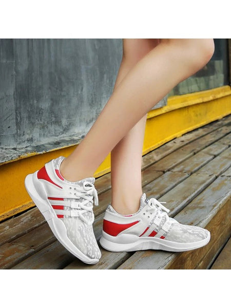 Gorgeous Breathable Colour Block Mesh Athletic Shoes