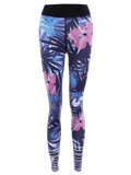 Gorgeous Floral Patterned Stretchy Yoga Leggings