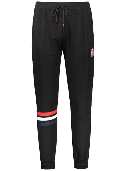 Trendy Drawstring Striped Sporty Jogger Pants