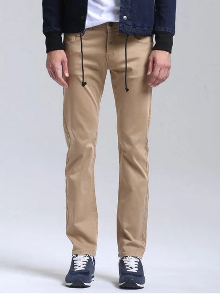 Chic Casual Slim Fit Chino Pants