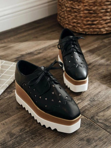 Platform SneakersSquare Toe Platform Sneakers