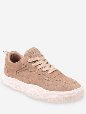 Latest Lined Lacing Casual Sneakers