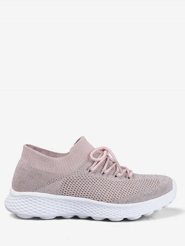 Latest Mesh Lace Design Running Sneakers