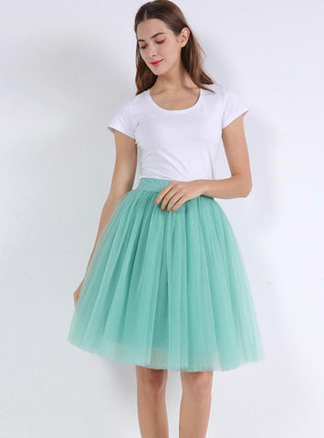 PUFFY NEW ARRIVAL FASHION WOMEN TULLE SKIRT TUTU