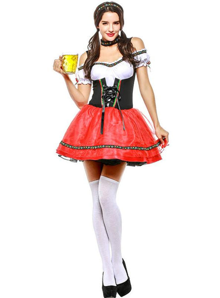 EUROPE AND THE UNITED STATES OKTOBERFEST MAID OUTFIT