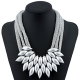 Fathion Leaf Alloy Necklace