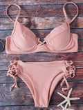 Cami Lace Up Bikini