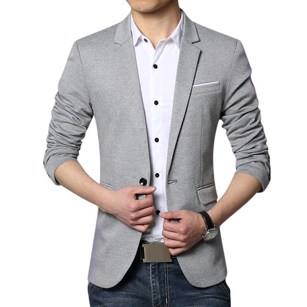 Best Cool Blazers for Men Business Slim Fit Casual Spring Comfortable Soft