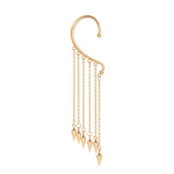 Cheap Gold-Tone Tassel Earrings