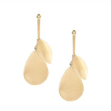 Cheap Charmed Metal Long Pendant Drop Earrings for Girl