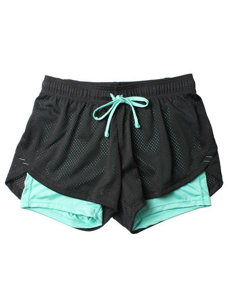 Women Skinny Fitness Shorts Women Elastic Casual Shorts