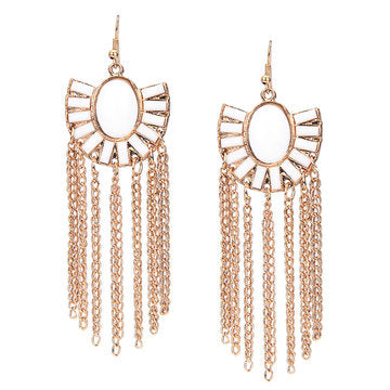 Cheap Boho Tassel Drop Earrings