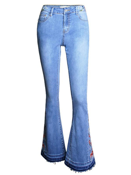 Elegant Jean Pants Bottoms