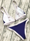 Two Tone Padded Swimsuit
