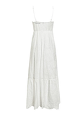 Hollow Out Embroidery Maxi Cotton Dresses