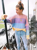 Romance Loose Knitting Sweater Tops