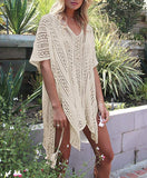 Bathing Suit Cover Up for Beach Pool Swimwear Crochet Dress