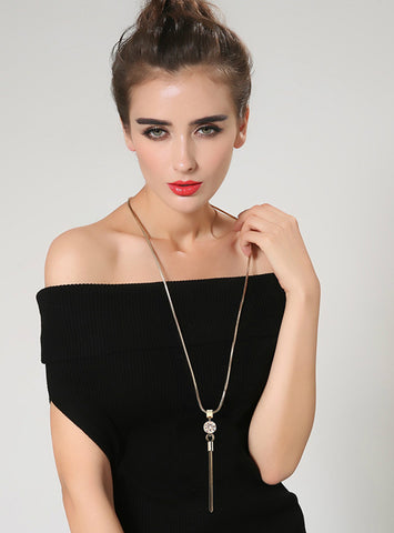 Women Pendant Necklaces  Hot Sweater Chain