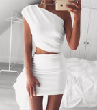White and Black  Kristen Chic Set