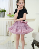 Three Generations of Princess Skirt with Butterfly Knot and Peng Skirt