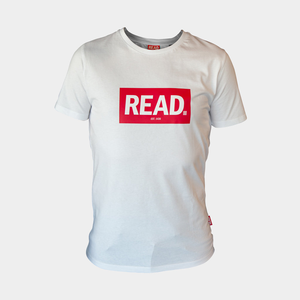 READ T-Shirt Wit - GetREAD.nl