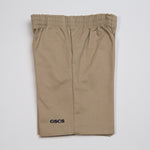ELASTIC WAIST SHORT WITH LOGO