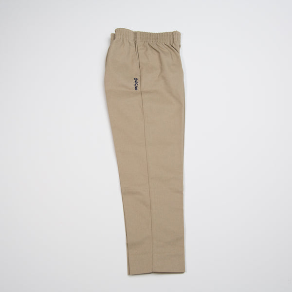 ELASTIC WAIST PANT WITH LOGO