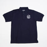 NAVY POLO WITH LOGO