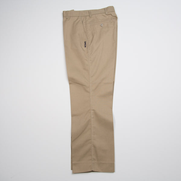KHAKI PANT WITH LOGO