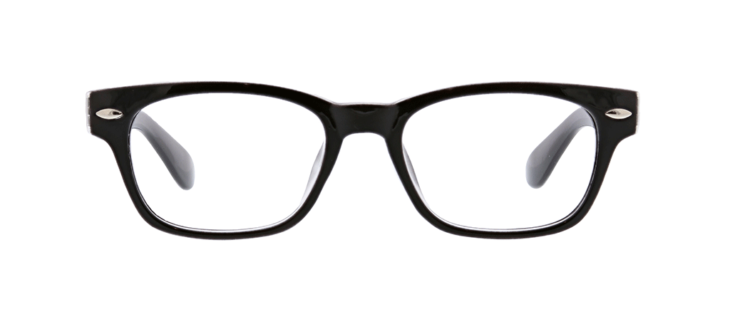 Black Simply Peepers Reading Glasses